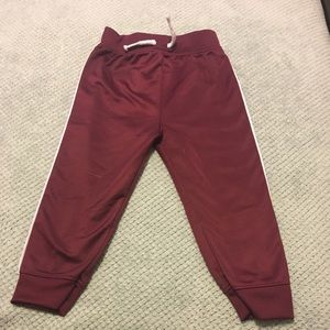 "Garanimals"" Burgundy Athletic Jogger"